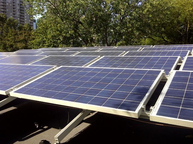 Photovoltaic solar panels installed by BossSolar