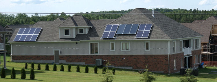 3kw PV system and 3 Viessmann hot water collectors